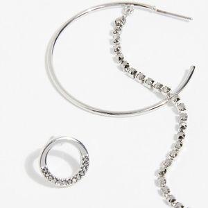 Free People Jewelry - Free People Lucky Star Asymmetric Earrings